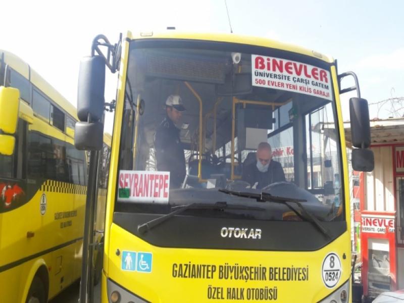 B13 Yeditepe Kılcan – Gaziantep Otobüs Saatleri