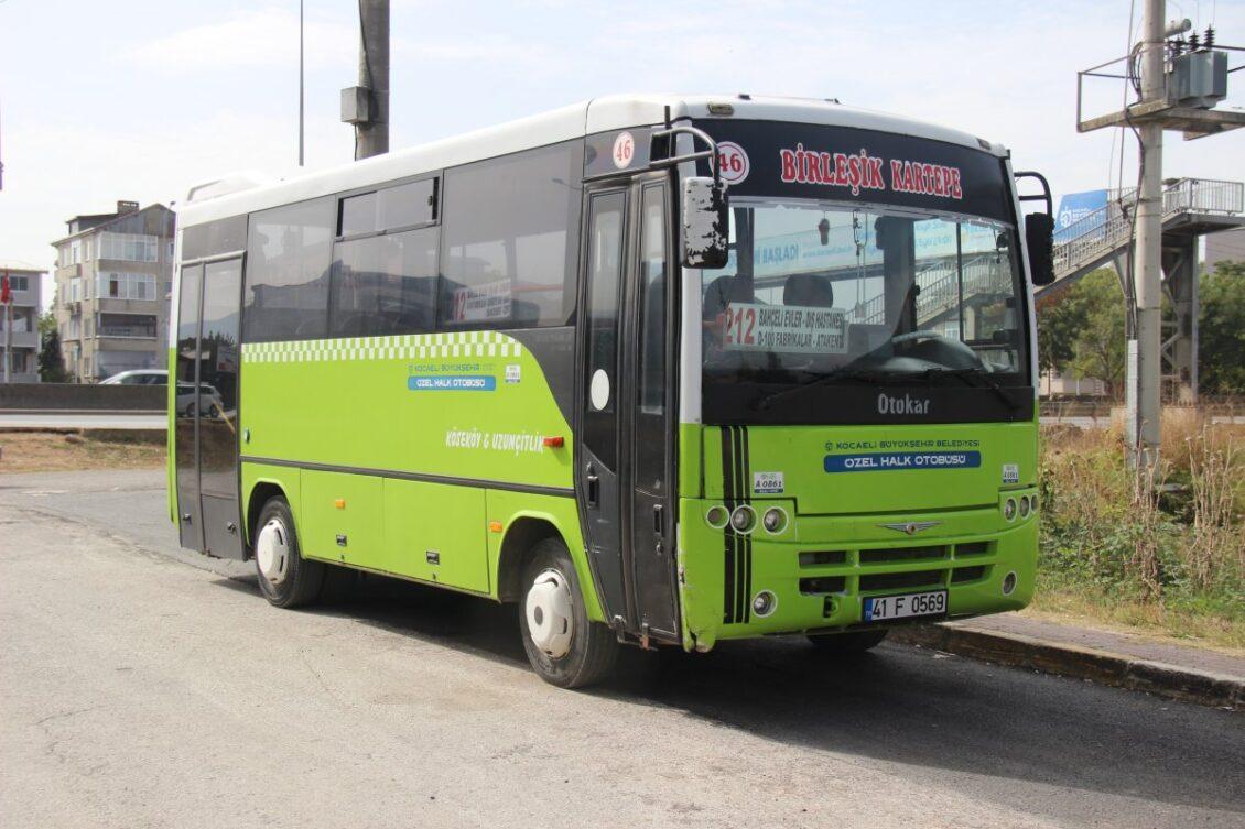 695 Otobüs Saatleri İzmit